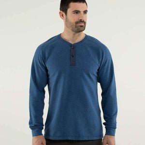 Lululemon All Time Henley Men's Sweatshirt